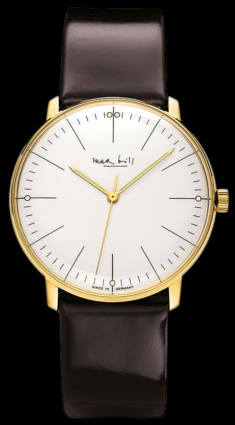 Junghans Max Bill Limited Edition Automatic vergoldet