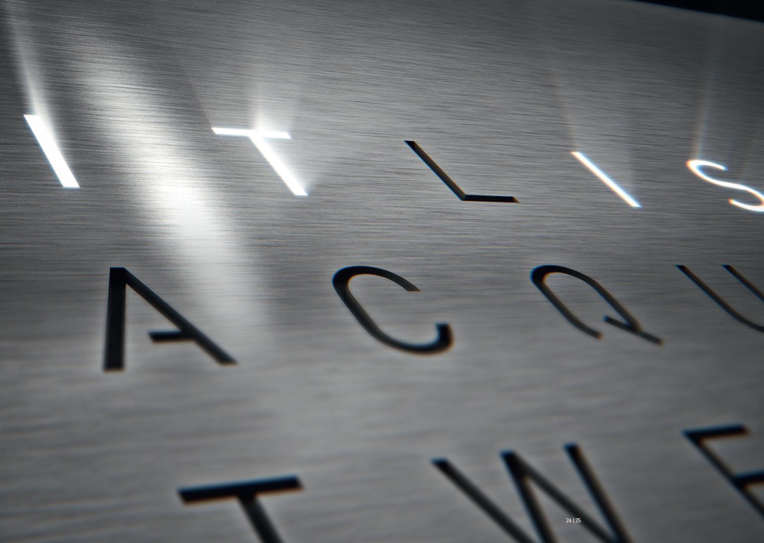 Qlocktwo Stainless Steel